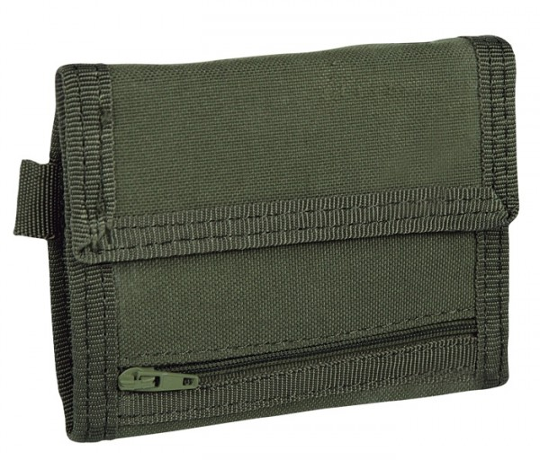 Condor Tri-Fold Wallet Oliv