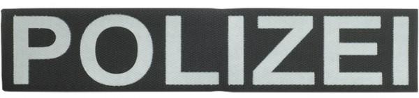 Schriftzug POLIZEI Reflektierend 25 x 5 cm