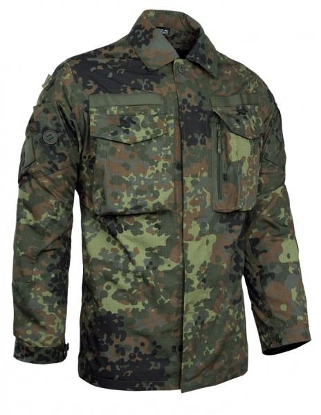 Teesar BW Kommando Smock Shirt Flecktarn