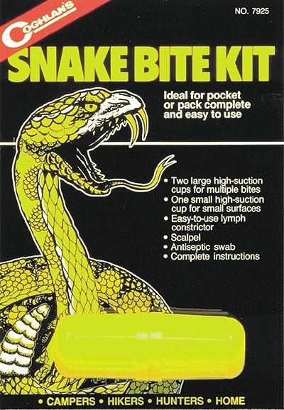 Coghlan's Schlangenbiss-Set ohne Antiseptikum