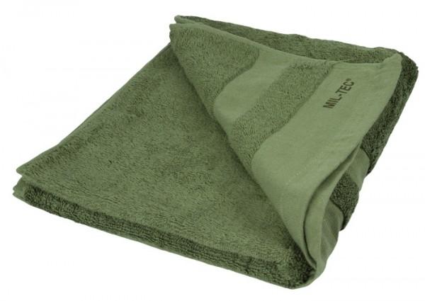 Handtuch Frottee 110x50 cm Oliv Neu