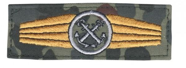 BW Tätigk.Abz. Pers. Im Marinedienst Tarn/Silber