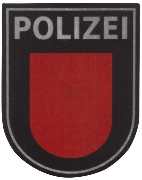 Ärmelabzeichen Polizei Hamburg Reflektierend