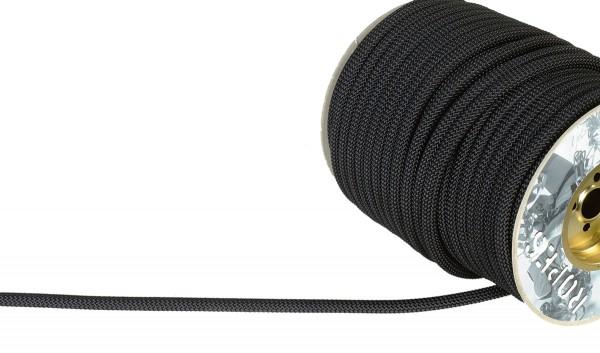 Superstatic Speläoseil Schwarz 11mm, 100 Meter