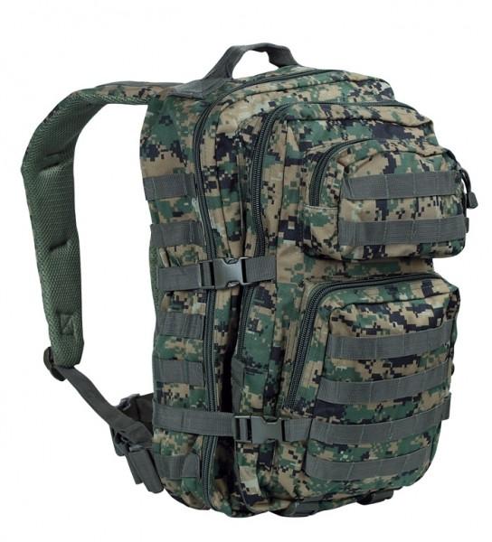 US Assault Pack Jump Digital-Woodland