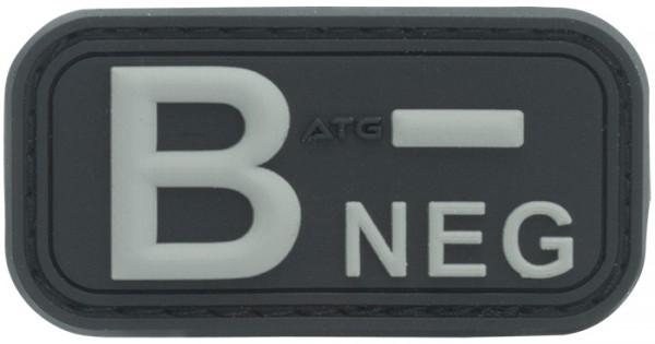 3D Blutgruppenpatch B NEG
