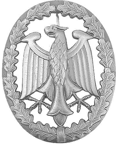 BW Leistungsabzeichen - Metall- Silber