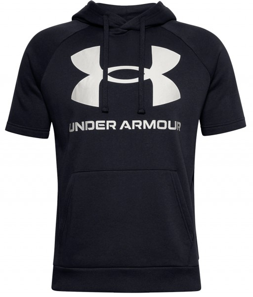 Under Armour Rival Fleece Logo Kurzarm Hoodie