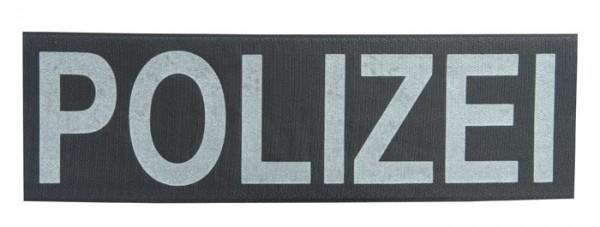 Schriftzug POLIZEI Reflektierend 33 x 10 cm