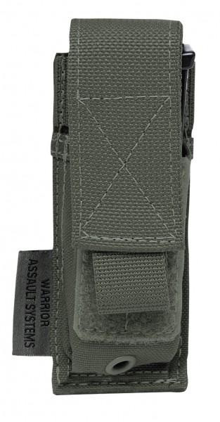 Warrior Single 9mm Pistol Pouch Oliv