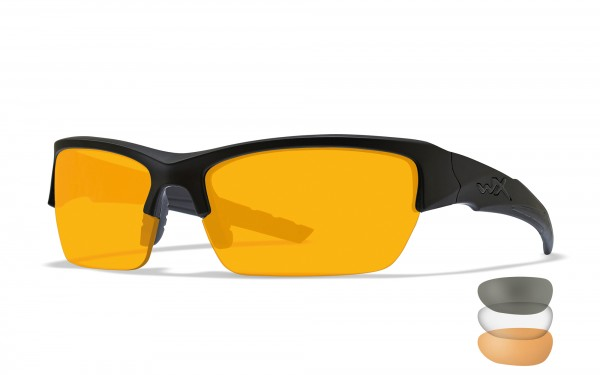 Wiley X Valor Schutzbrille Smoke/Clear/Rust