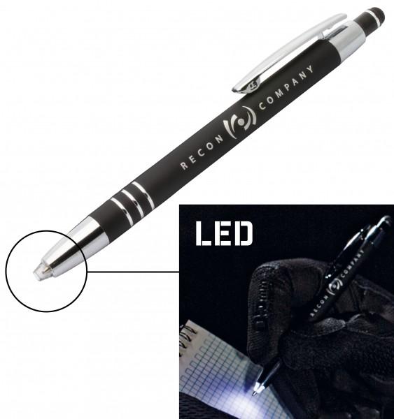 "Recon Kugelschreiber ""Police Pen"" mit LED-beleuchteter Spitze"