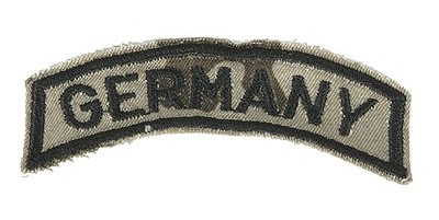 BW Armabzeichen 'Germany' Tropentarn Klein