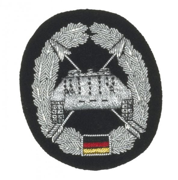 Barett Abzeichen Panzerjäger Handgestickt