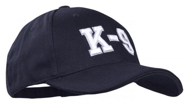 Baseball Cap Schwarz 3-D K9
