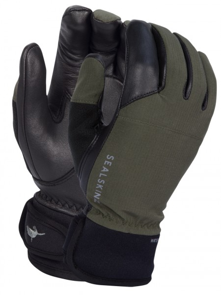 Schiesshandschuhe SealSkinz Hunting Gloves Oliv