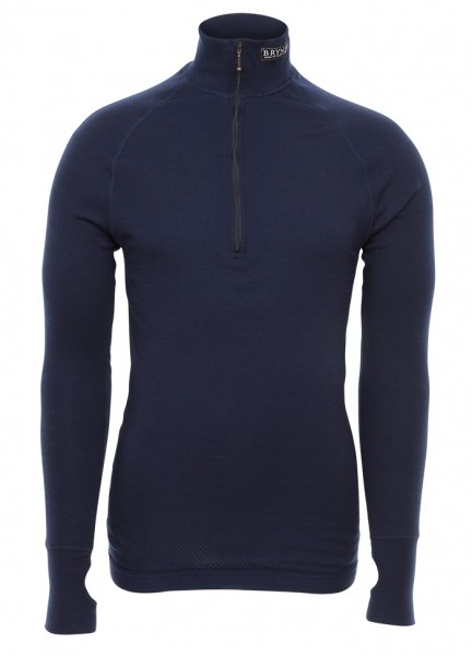 Brynje Double Arctic Zip Polo Flammhemmend