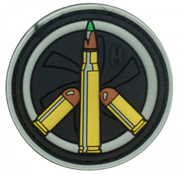Maxpedition Rubber Patch PEACE BULLET Swat