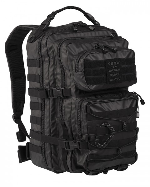 US Assault Pack Large Tactical Black