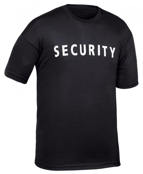 T-Shirt Schwarz Security (Großer Druck)