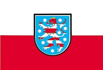 Flagge BL Thüringen