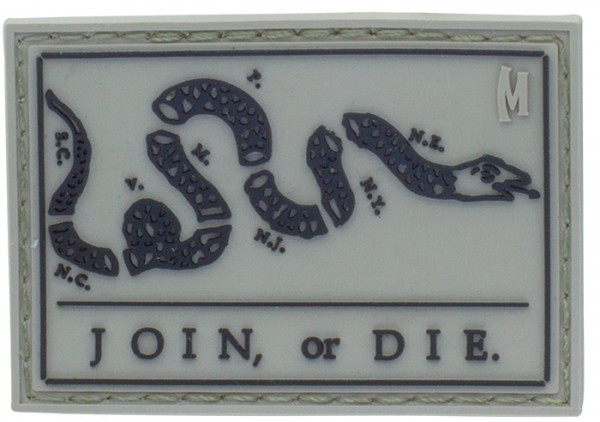 Maxpedition Rubber Patch JOIN OR DIE