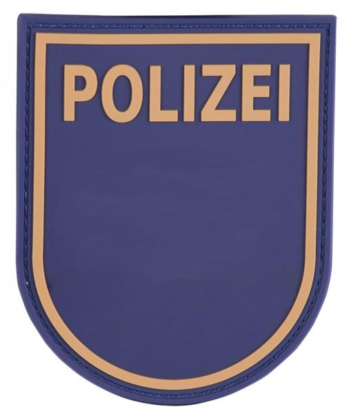 3D Ärmelabzeichen Polizei Bayern (Blau)