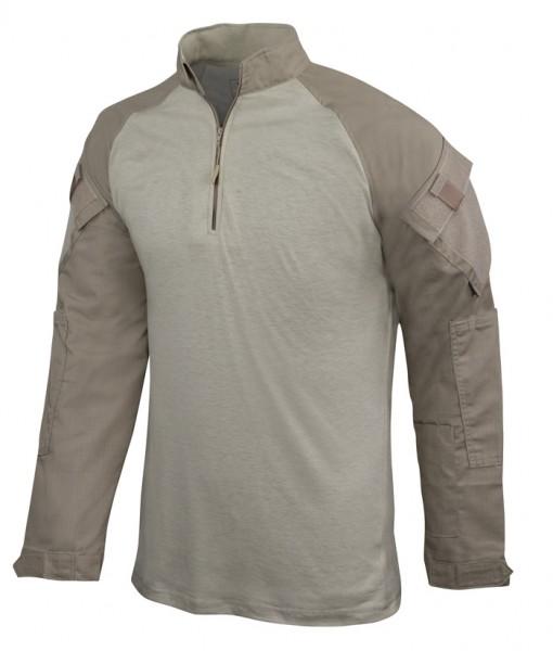 TRU-SPEC Combat Shirt 1/4 Zip Khaki