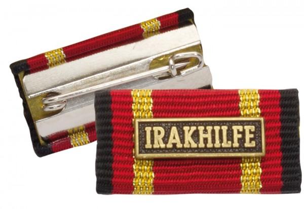 Bandschnalle Auslandseinsatz IRAKHILFE Bronze