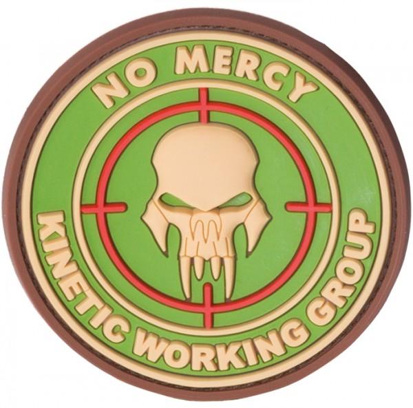 3D Rubber Patch No Mercy Multicam