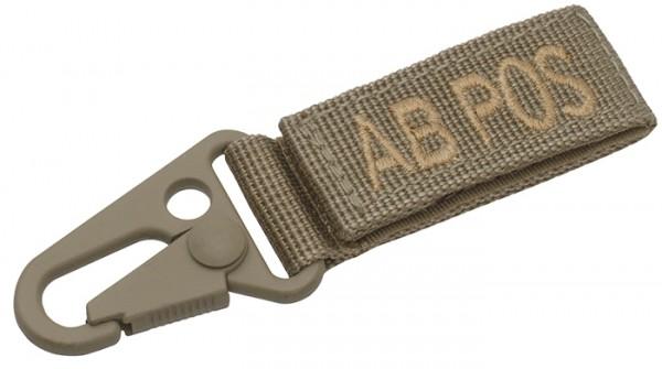 Tactical Keyholder Blood AB POS 5er-Pack