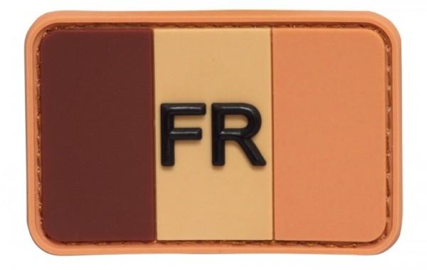 "3D Rubber Patch Frankreich ""FR"" Desert"