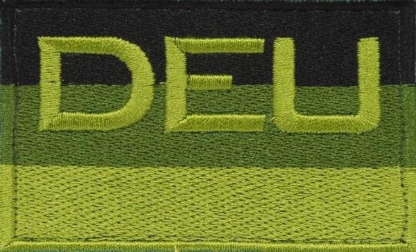 BW Hoheitsabzeichen DEU Oliv mit Klettband - Groß