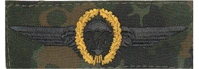BW Tätigkeitsabz. Fallschirmjäger Tarn/Gold