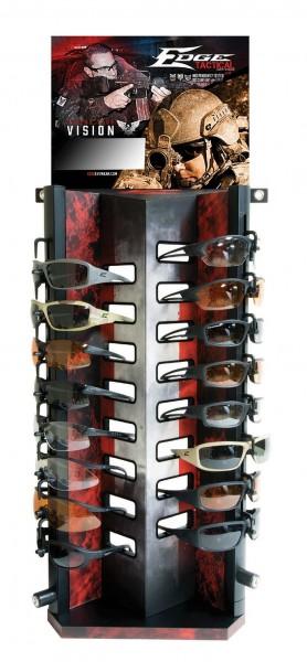 Edge Tactical Brillenverkaufsständer Display