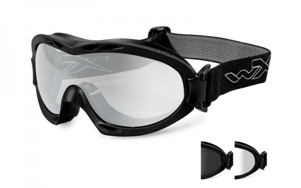 Wiley X Nerve Schutzbrille Smoke/Clear