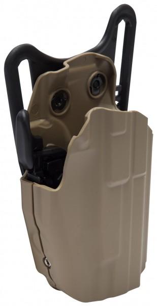 Gürtelholster Safariland 577 Pro-Fit Glock 19, 23 Coyote - Rechts
