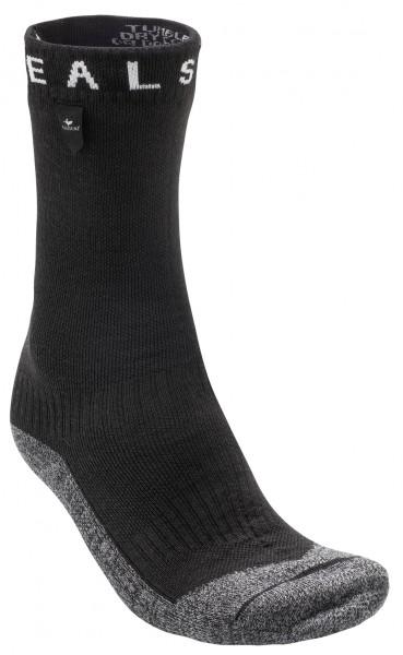 SealSkinz Waterproof Warm Weather Soft Touch Mid Sock