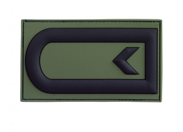3D Dienstgrad Abz. Feldwebel Oliv - Einzeln