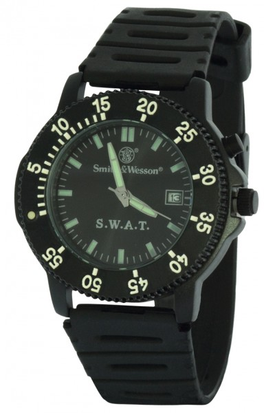 Smith & Wesson SWAT Uhr mit Diverarmband