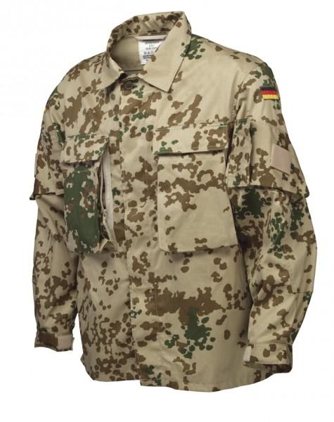 BW Einsatzkampfbluse KSK 3-Farben Tropentarn