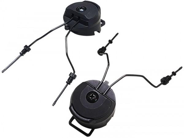 MePaBlu Helmhalter für ITW Helmschiene 1 Paar