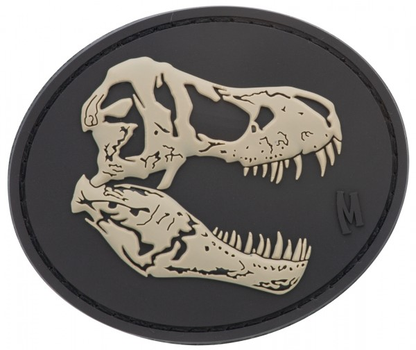 Maxpedition Rubber Patch T-REX SKULL Swat