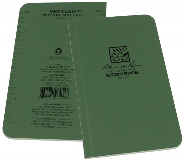 """Rite in the Rain Tactical Memo Book 3,5"""" x 6"""""""