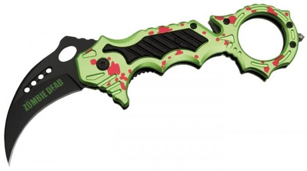 Einhandmesser Karambit II Zombie Dead