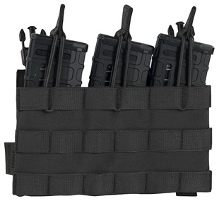 Warrior Recon Plate Carrier Triple Open Mag Pouch