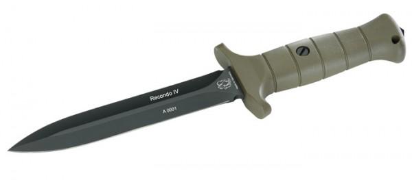 Eickhorn Kampfmesser Recondo IV Oliv Klinge Glatt