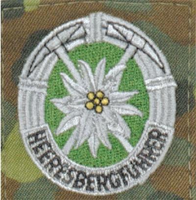 BW Heeresbergführer Flecktarn/Bunt