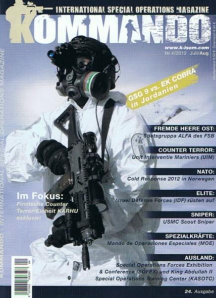 Kommando Magazin K-ISOM Ausgabe: 24 Nr.4/2012