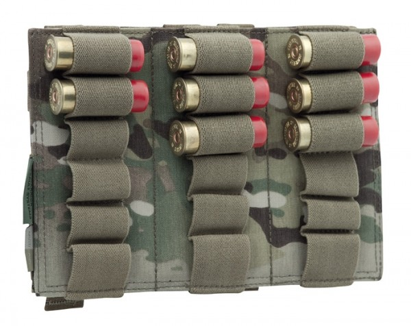 Warrior Triple Vertical Shotgun Multicam